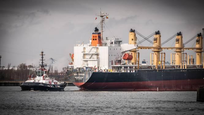 Proefvaart met schip van meer dan 15,5 meter diepgang gepland in Antwerpse haven