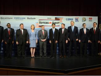 Santorum mist eerste tv-debat presidentsrace VS