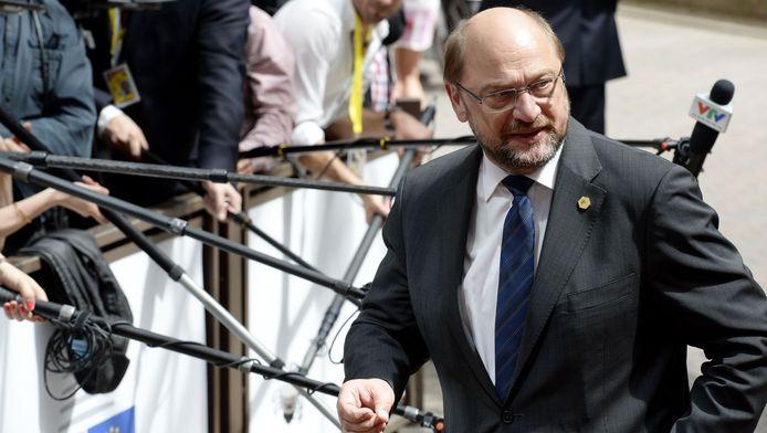 Martin Schulz, voorzitter van het Europese Parlement