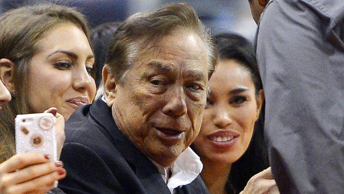 Eigenaar van de LA Clippers Donald Sterling.