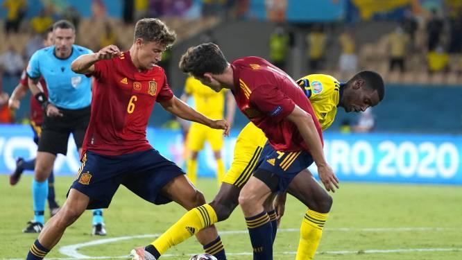 Flets Spanje komt goed weg met gelijkspel tegen Zweden