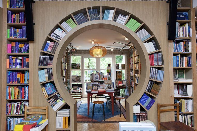 Boekhandel Van Rossum in de Beethovenstraat Beeld Roy del Vecchio