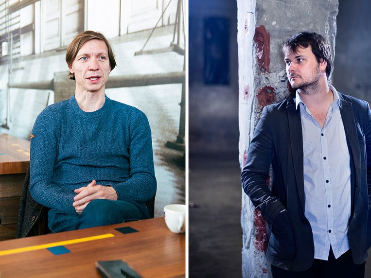 Valentijn Dhaenens en Michael Bijnens Beeld Damon De Backer / Johan Jacobs