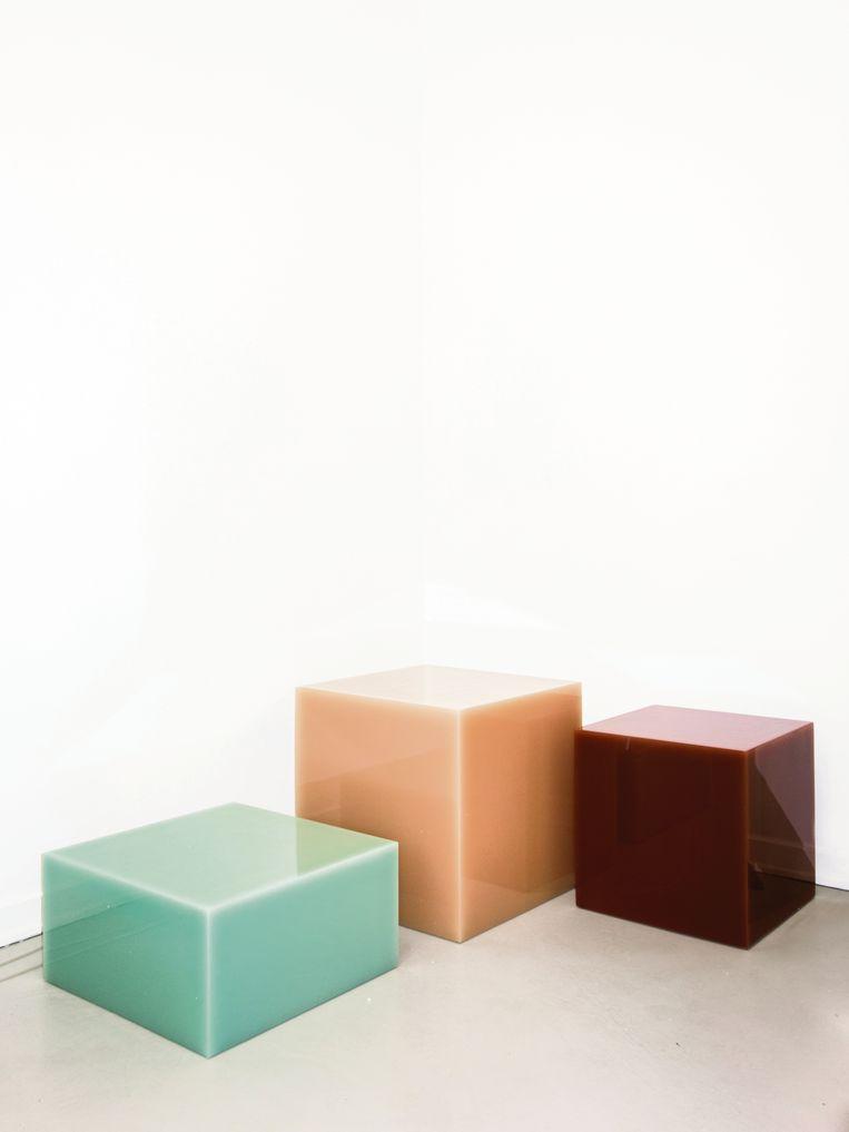 De reeks 'Candy Cubes' startte in 2014. Beeld RV