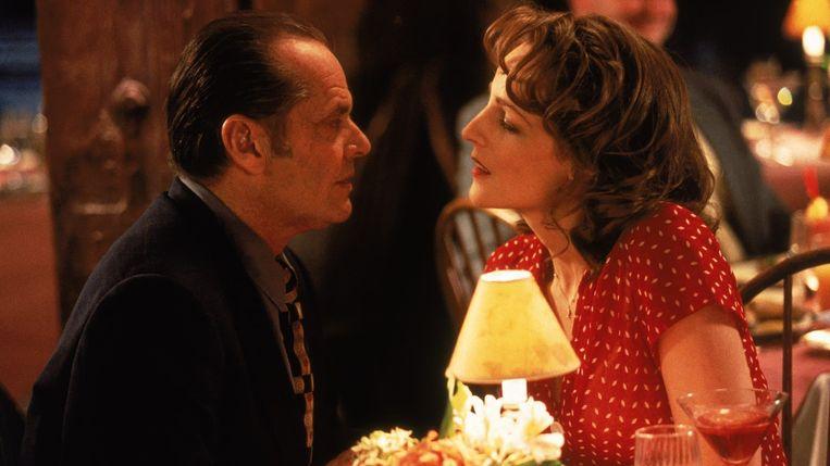 Jack Nicholson en Helen Hunt in As Good as It Gets van James L. Brooks. Beeld x