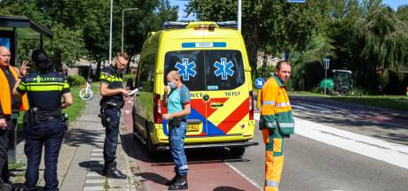 Fietser gewond bij aanrijding met scooter
