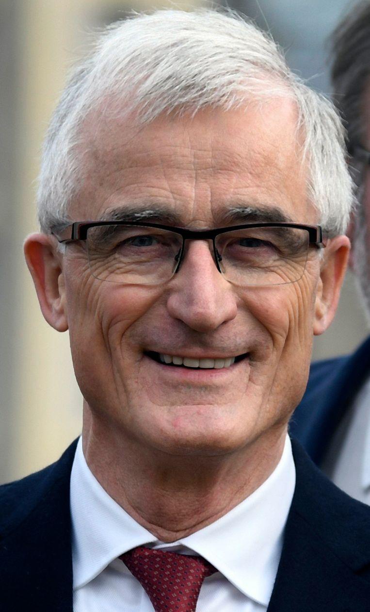 Europees N-VA-lijsttrekker Geert Bourgeois laat weten dat hij zich voorlopig nergens toe verbonden heeft. Beeld Photo News