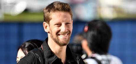 Grosjean na eerste test sinds F1-crash: 'Voelde geen angst, het was geweldig'