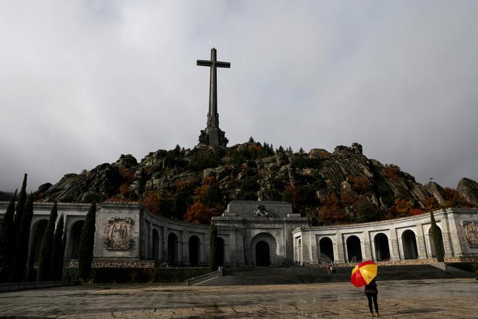 Herdenkingscomplex Valle de los Caídos dat de Spaanse dictator Franco ooit liet bouwen als praalgraf.