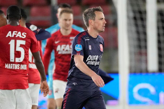 FC Twente-aanvoerder Wout Brama drukte bij zijn rentree ook verbaal meteen zijn stempel.