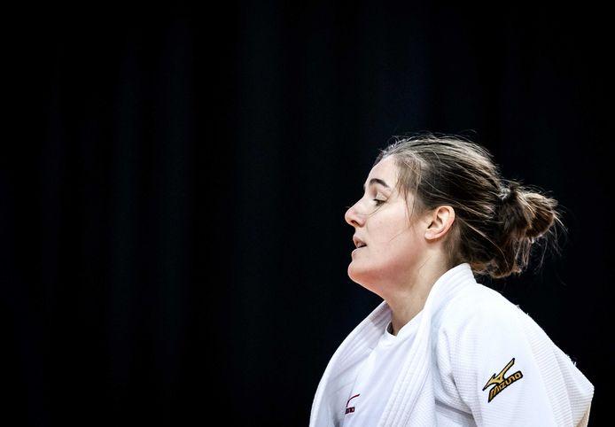 Guusje Steenhuis was onder meer te sterk voor Aleksandra Babintseva uit Rusland.