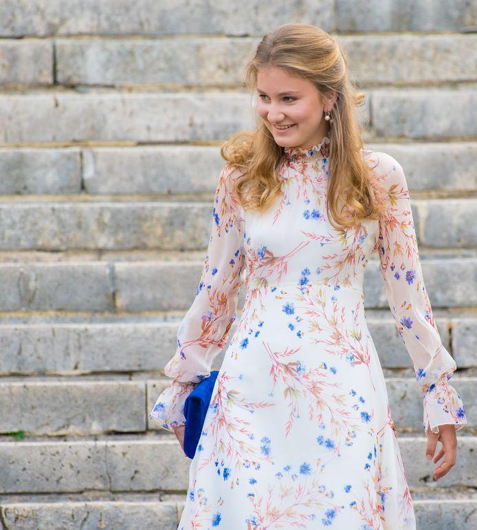 La princesse Elisabeth à la fête nationale le 21 juillet 2019