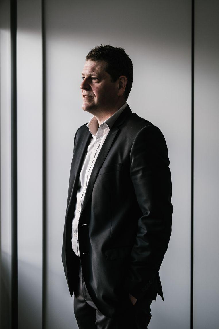Sp.-a-voorzitter Tom Meeuws. Beeld Wouter Van Vooren