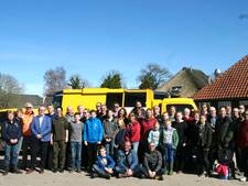 750 kilo zwerfafval opgeruimd in Giethoorn