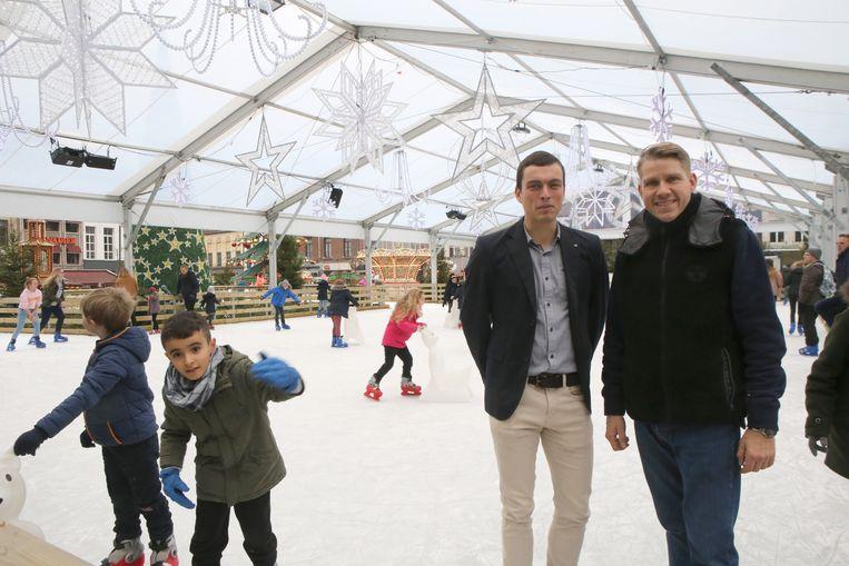 Gijsbrecht Huts en Steve Severeyns blikken nu al terug op een geslaagde editie van Wintermagie in Tienen.