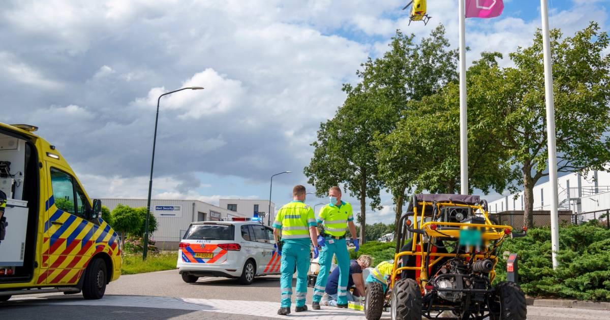 Twee inzittenden zwaargewond bij ongeval met slingerende buggy.