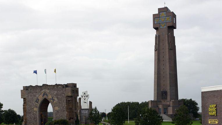 """""""De gemeenten kunnen een eigen lokale toets geven aan de tentoonstelling"""", zegt secretaris van de IJzertoren Dirk Demeurie."""