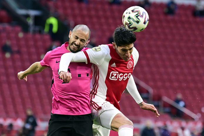 Ook Mark van der Maarel is er niet bij tegen Willem II.