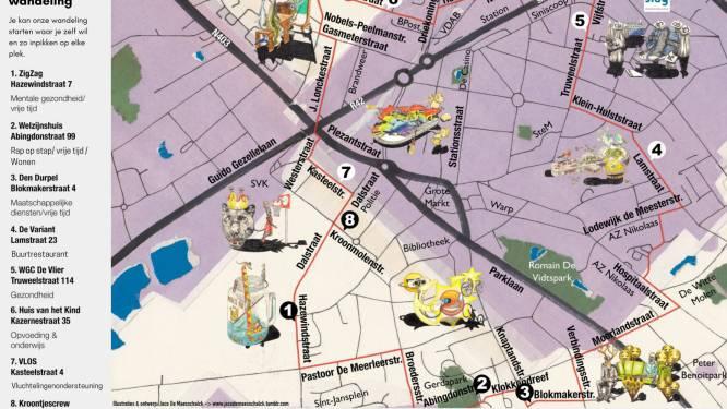 'Toerke Doen' langs acht welzijnsorganisaties in de stad