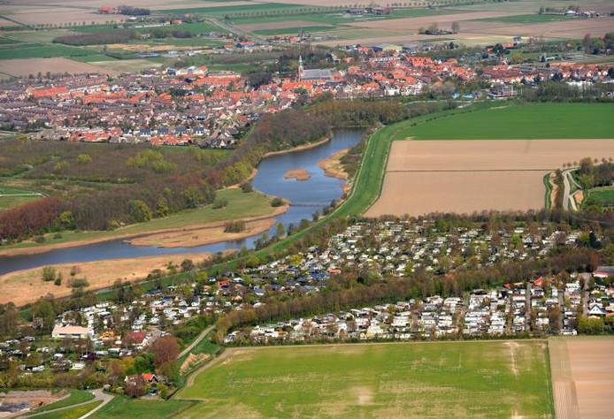In de Geertruidapolder, het groene vlak rechtsboven, komen wellicht toch woningen.