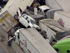 Minstens vijf doden bij gigantische kettingbotsing in Texas