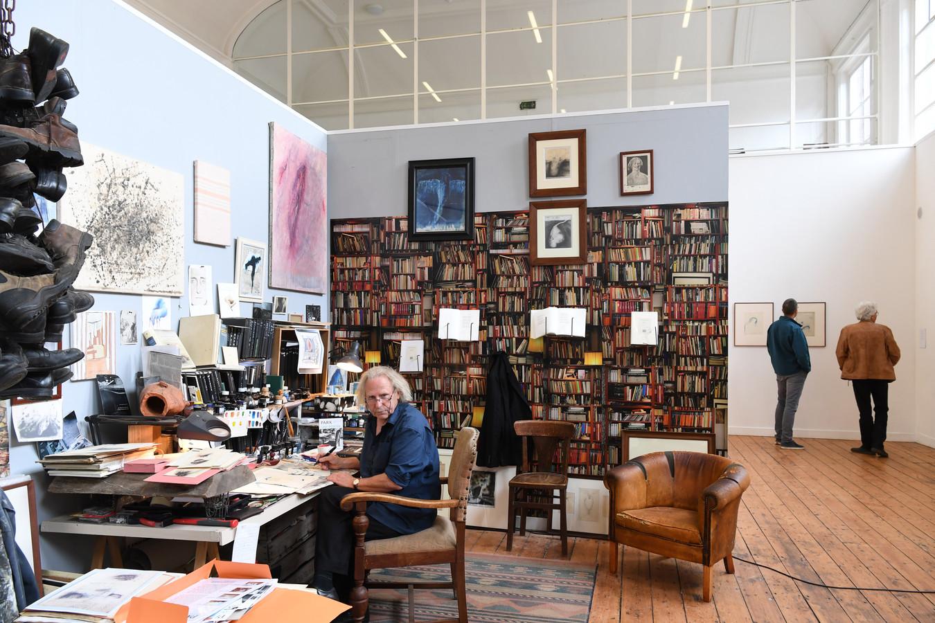 TILBURG,  Foto PixProfs/Jan Stads Hans Klein Hofmeijer heeft een deel van zijn atelier heeft verplaatst naar PARK in Tilburg. Foto Pix4Profs/Jan Stads
