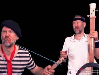 Comedian Henk Rijckaert doet gooi naar zomerhit met hilarisch nummer (en zelfgemaakte instrumenten)