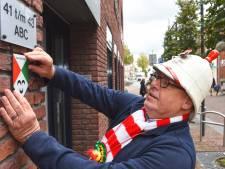 Huis omtoveren tot 'Kaaiendonks Monument' met muurschildje