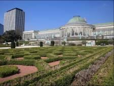 Un homme s'empale sur les grilles du parc du Jardin Botanique à Bruxelles