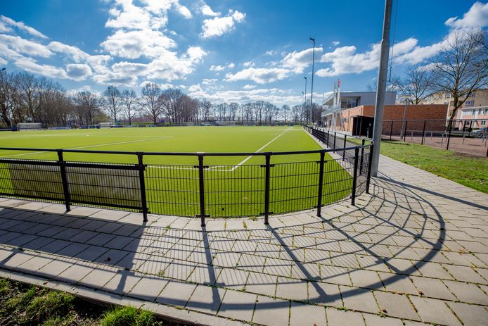 Het voetbalveld bij Sportclub Doesburg. Foto ter illustratie.