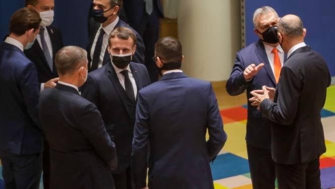 Europese leiders eens over sancties tegen Turkije