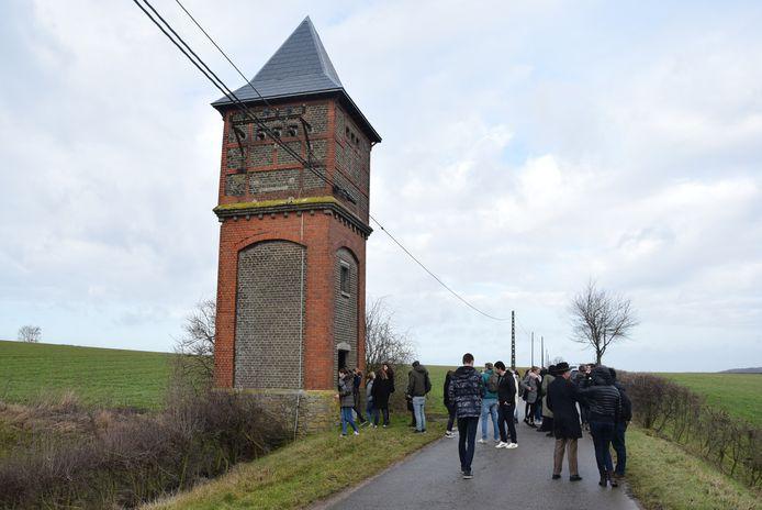Elektrische toren Voeren.