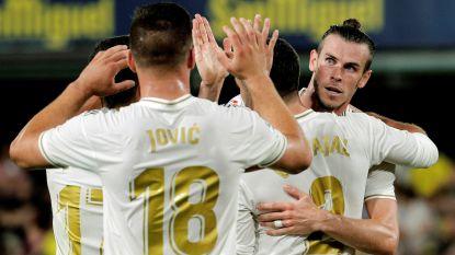 Zowaar Gareth Bale zorgt met twee goals voor puntje Real Madrid in Villarreal