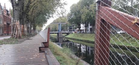Nieuw wandelpad bij Zuid-Willemsvaart: waarschuwingsbordjes toch te vroeg weggehaald?