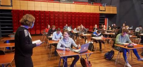 Leerlingen TBL wijken uit voor herrie en maken examens in de Rusheuvel