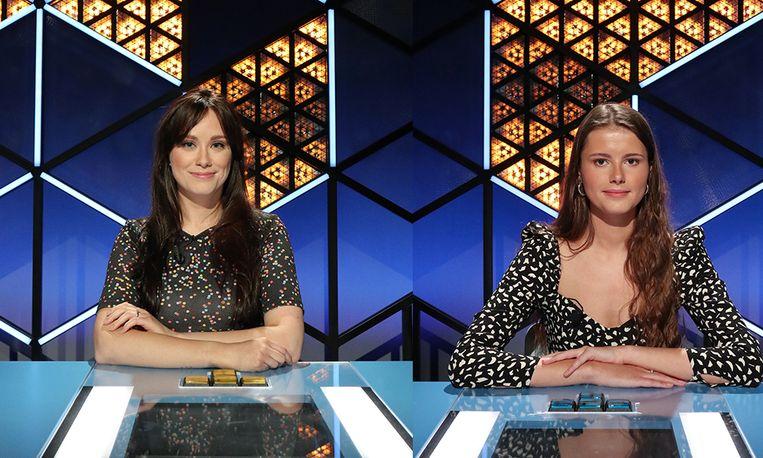 Talitha en Thaïsa in 'Blokken' Beeld VRT