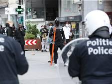 Affrontements avec la police et magasins pillés: la tension est montée à Bruxelles