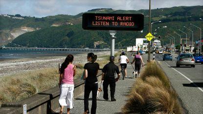 Tsunami-alarm opgeheven na beving in wateren rond Nieuw-Zeeland