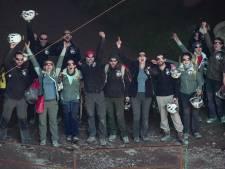 Franse grotbewoners na veertig dagen weer buiten: ,,Alleen als je naar het toilet ging was je echt even alleen''