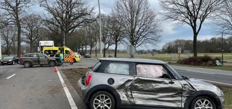 Een gewonde bij ongeval op N65 bij Helvoirt, flinke file richting Tilburg weer voorbij