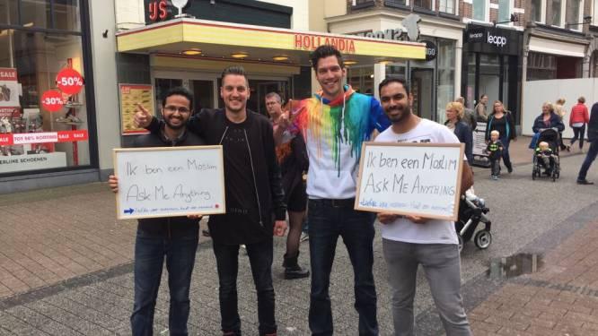 Utrechtse moslims lanceren actie; hopen op goede gesprekken en minder vooroordelen