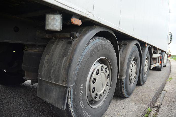 stockadr transport vrachtwagen