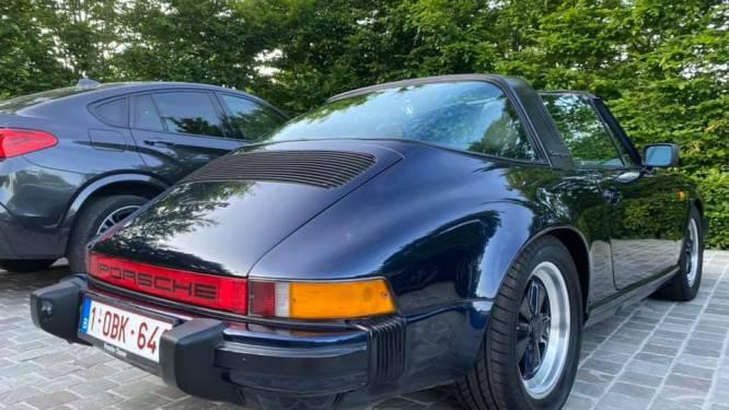 """Dieven stelen op dooie gemak oldtimer Porsche uit carport: """"Ze overlegden kalmpjes op straat en demonteerden dan de automatische poort"""""""
