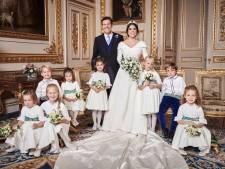 Hof deelt foto's huwelijk Eugenie en Jack