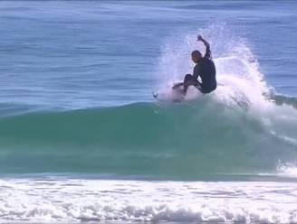 Mick Fanning klieft opnieuw door de golven