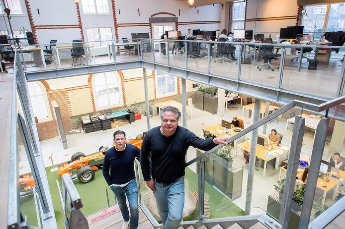 BREDA - Stefan Nuijten (links) en Cees Faes van Fightclub dat gevestigd is in de oude Oranjeboom brouwerij aan het Ceresplein.