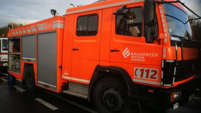 Brandweer opgeroepen voor stormschade in Koekelare en Diksmuide