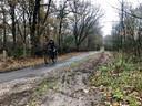 Vooral op zondagmorgen is De Maashorst een gewild gebied voor mountainbikers.