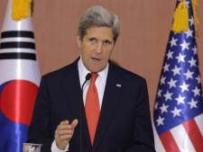 Kerry met en garde la Corée du Nord contre un tir de missile