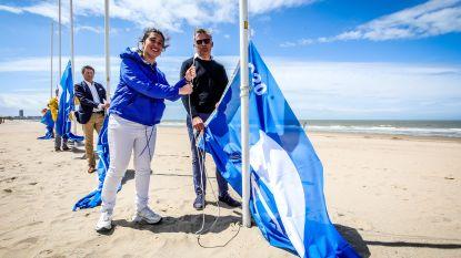 Waterkwaliteit blijkt fors verbeterd: voor het eerst wappert 'Blue Flag' op onze stranden